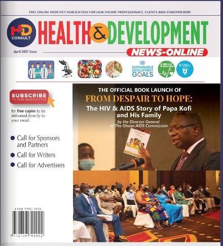 Health&Development April 2021 Issue Cover